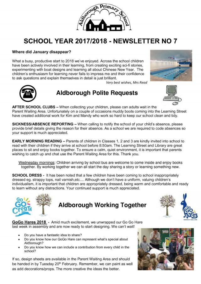 thumbnail of Newsletter Spring 1 newsletter 7
