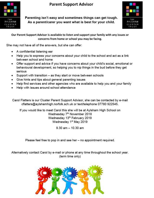 Parent Support Advisor – Aldborough Primary School