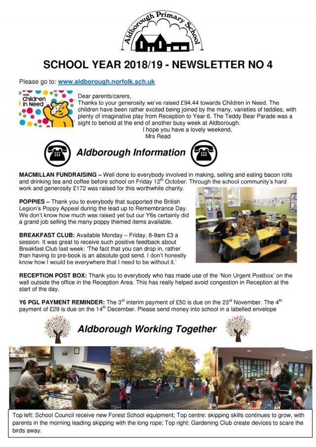 thumbnail of Newsletter 4 Autumn 2018 16.11.18