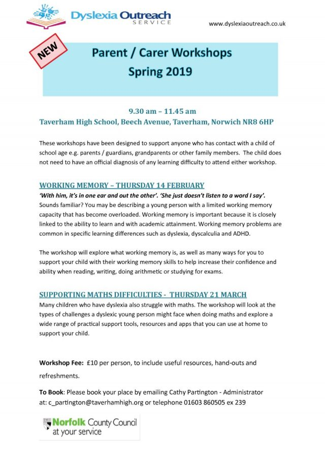 thumbnail of Parent Workshop Flyer Spring 2019