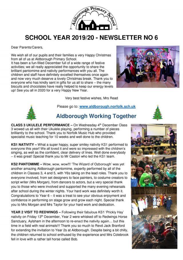 thumbnail of Newsletter 6 Autumn 2019